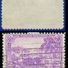 1937 USA USED Scott# 802 – 3c Charlotte Amalie Harbor – 1937 Commemoratives