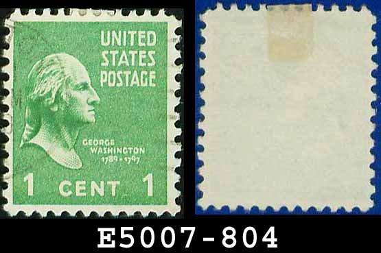 1938 USA USED Scott# 804 � 1c Washington � 1938 Presidential Series