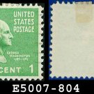 1938 USA USED Scott# 804 – 1c Washington – 1938 Presidential Series