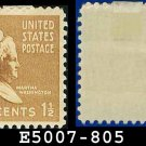 1938 USA UNUSED Scott# 805 – 1 1/2c Martha Washington – 1938 Presidential Series