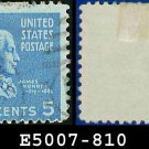 1938 USA USED Scott# 810 – 5c Monroe – 1938 Presidential Series