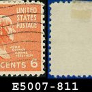 1938 USA USED Scott# 811 – 6c John Q Adams – 1938 Presidential Series