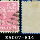 1938 USA USED Scott# 814 – 9c W H Harrison – 1938 Presidential Series