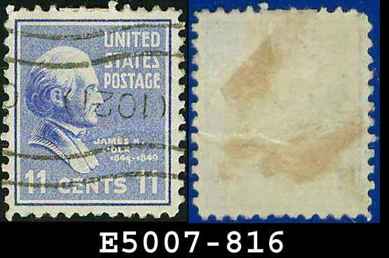1938 USA USED Scott# 816 � 11c J Poke � 1938 Presidential Series
