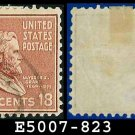 1938 USA USED Scott# 823 – 18c U S Grant – 1938 Presidential Series