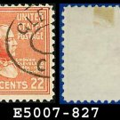 1938 USA USED Scott# 827 – 22c G Cleveland – 1938 Presidential Series
