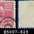 1938 USA USED Scott# 829 – 25c McKinley – 1938 Presidential Series