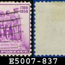 1938-39 USA USED Scott# 837 – 3c Colonization of the West – 1938-39 Commemoratives