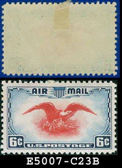 1938 USA UNUSED Scott# C23 � 6c Red Eagle � Air Mail Stamp