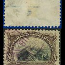 1901 USA USED Scott# 298 – 8c Canal at Sault Ste Marie – Pan-American Issue