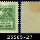 1908 USA UNUSED Scott# E7 – 10c Helmet of Mercury – Special Delivery Stamps