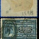 1894 USA USED E4 – 10c Blue Messenger on Bicycle - Special Delivery Issue