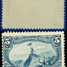 1898 USA UNUSED Scott# 288 – 5c Fremont on the Rocky Mountains – Trans-Mississippi Series