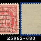 1929 USA USED Scott# 680 – 2c Wayne Memorial – 1929 Commemoratives