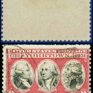 1930-31 USA USED Scott# 703 – 2c Rochambeau, Washington, De Grasse  – 1930-31 Commemoratives