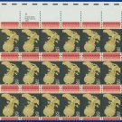 1989 USA UNUSED Scott# 2413 - 25c United States Senate Partial Sheet of 30 Stamps – E4116