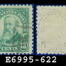 1925-26 USA USED Scott# 622 – 13c Green Harrison – 1925-26 Regular Issue