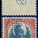 1922-25 USA USED Scott# 573 – $5 Carmine & Blue America – 1922-25 Regular Issue