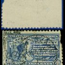1902 USA USED Scott# E6 – 10c Messenger On Bicycle  – Special Delivery Stamps