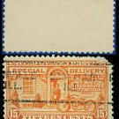 1922-25 USA USED E13 – 15c Orange Motorcycle Delivery - Special Delivery Issue