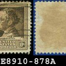 1940 USA USED 878 – 10c Brown Jane Addams – 1940 Famous Americans Issue