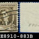 1940 USA USED 883 – 10c Brown Ethelbert Nevin – 1940 Famous Americans Issue