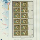 1973 USA MNH Sc# 1486 Plt #'d Blk of 12 Stamps mounted on a WA Pg – H Tanner – E2703