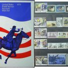 1973 USPS Commemorative Album with complete set of Unused stamps E5186