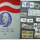1972 USPS Commemorative Album with complete set of Unused stamps E5186