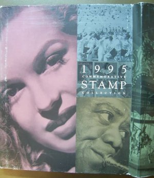 1995 USPS Commemorative Album ONLY - NO Stamps E1552