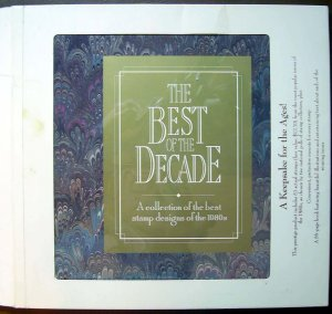 USPS Commemorative Album ONLY - NO Stamps - Best of the 80's Decade - E1552