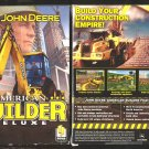 John Deere American BUILDER Deluxe pc video game  Special  Price!!!