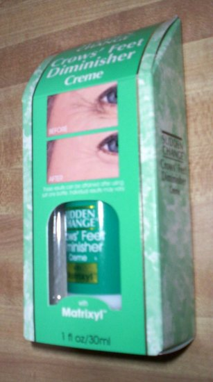 SUDDEN CHANGE Crows' Feet Diminisher Creme Skin Care Wrinkle Remover!