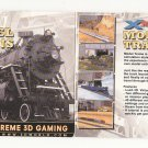 MODEL TRAINS  3D  Virtual Reality Layout!  Free Gaming System!  RAILROAD!