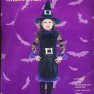 WITCH Elegant Halloween Costume Fits most 2-4 yrs NEW!