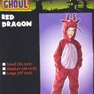 "Red DRAGON Halloween Costume LARGE 47"" PLUSH! New!"