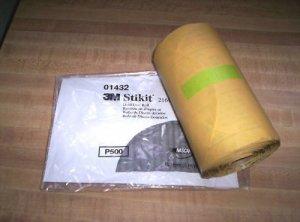 3M STIKIT GOLD Discs 6 inch P500 #01432 Sandpaper