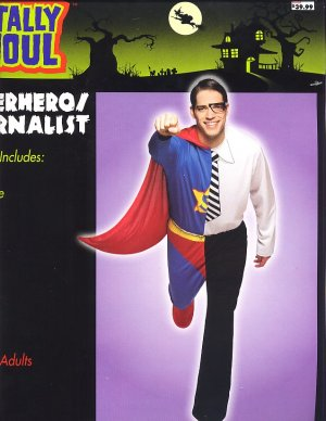 SUPER HERO  Halloween Costume ADULT Brand New!