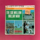 THE SIX MILLION DOLLAR MAN 1974 View-Master SEALED! Packet # B559