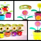 Solar Dancing Flowers ~ Set of 3 ~ Adorable!!