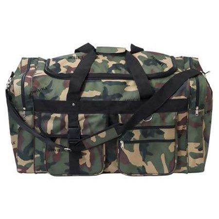 "27"" Camo Polyester Tote Bag"