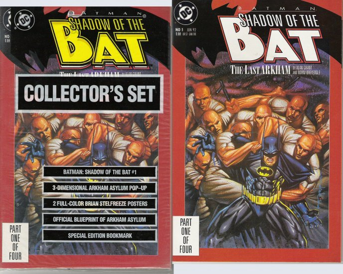 BATMAN SHADOW OF THE BAT COLLECTION DC COMICS