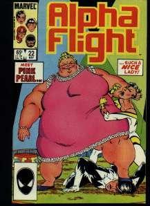 ALPHA FLIGHT COMIC COLLETION MARVEL COMICS