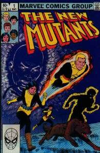 THE NEW MUTANTS COMIC COLLECTION MARVEL COMICS