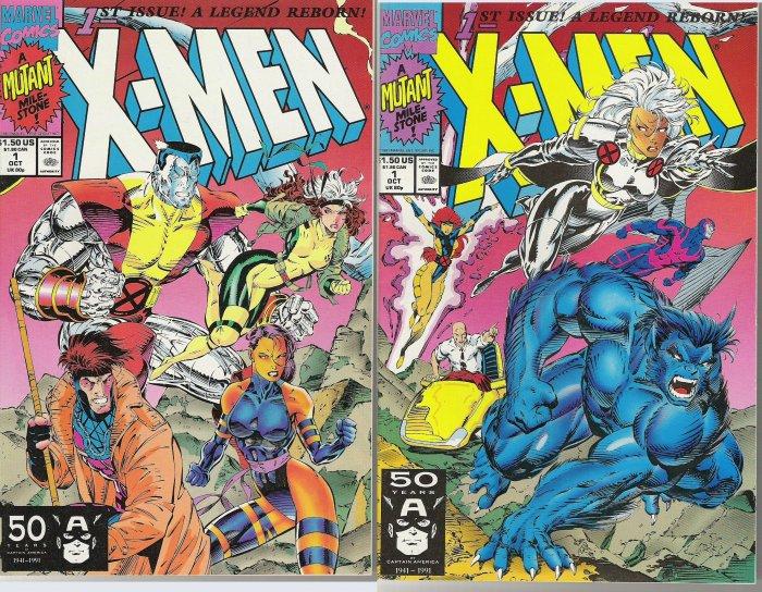 X-MEN COMIC LOT CLASSIC - UNCANNY - X-MEN