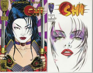 SHI THE WARRIOR COMIC COLLECTION