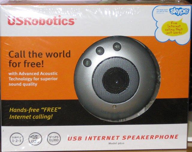 USRobotics USB Internet Speakerphone Model 9610
