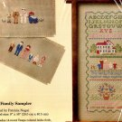 *1988 FAMILY SAMPLER COUNTED CROSS STITCH KIT CREATIVE CIRCLE NEW IN PACKAGE