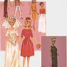 "CIRCA 1964 11.5"" BARBIE BUTTERICK 3419 VINTAGE FASHION DOLL OOP PATTERN UNCUT"