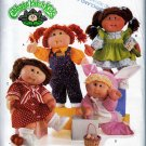 OOP CABBAGE PATCH KID DOLL BUNNY COSTUME, DRESSES + BUTTERICK 5902 PATTERN UNCUT